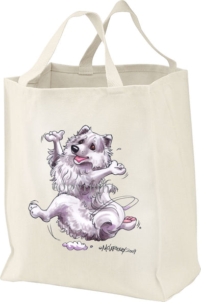 American Eskimo Dog - Happy Dog - Tote Bag