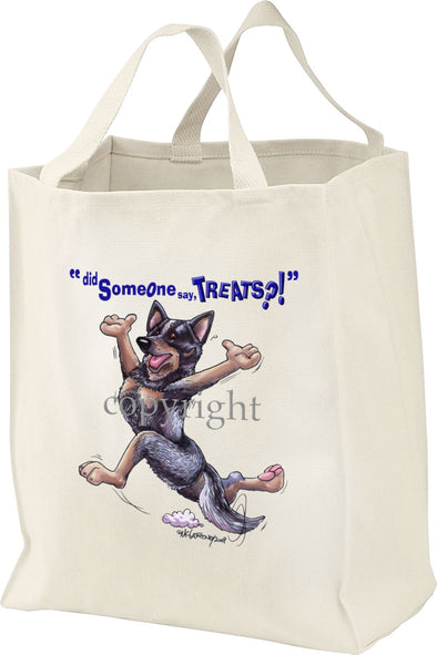 Australian Cattle Dog - Treats - Tote Bag