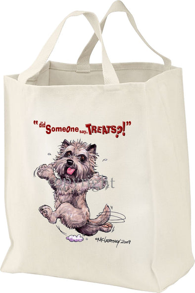 Cairn Terrier - Treats - Tote Bag