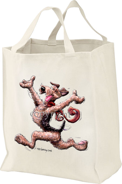 Airedale Terrier - Happy Dog - Tote Bag