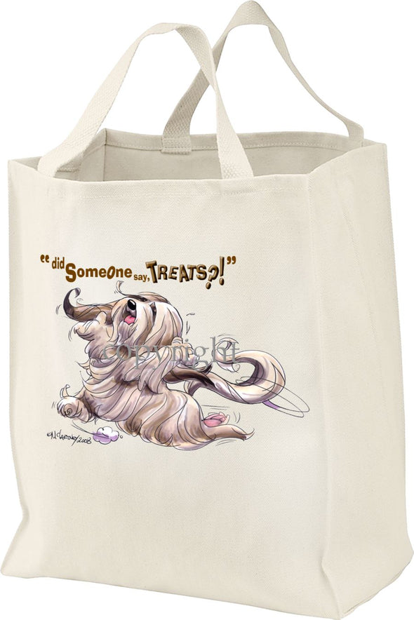 Lhasa Apso - Treats - Tote Bag