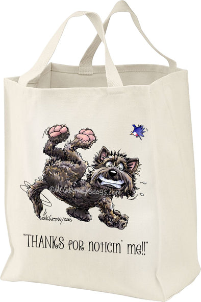 Cairn Terrier - Noticing Me - Mike's Faves - Tote Bag