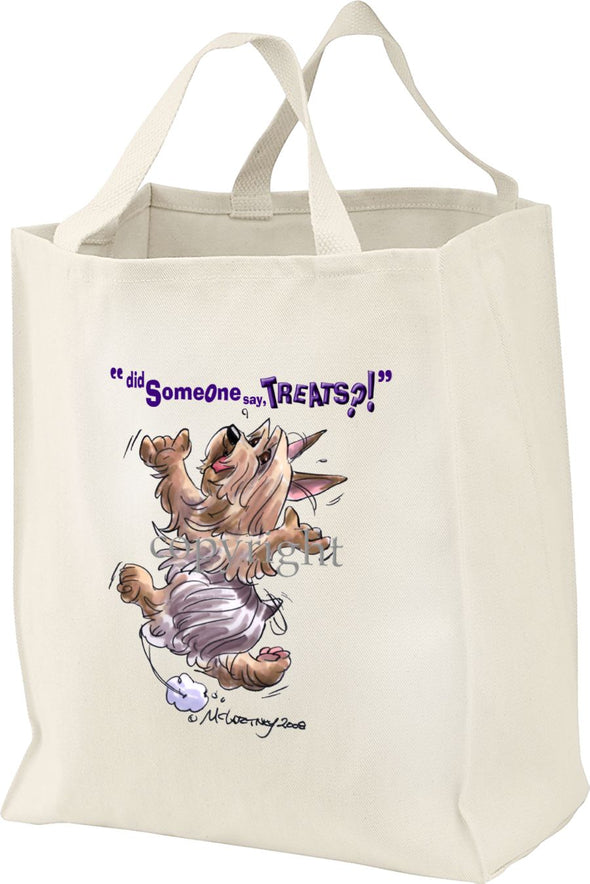 Silky Terrier - Treats - Tote Bag