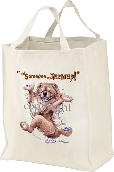 Chow Chow - Treats - Tote Bag
