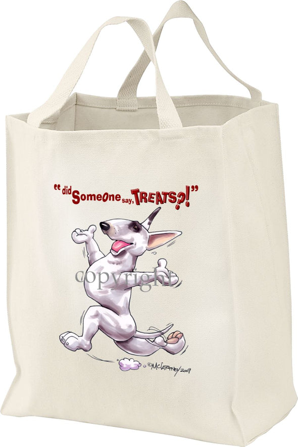 Bull Terrier - Treats - Tote Bag