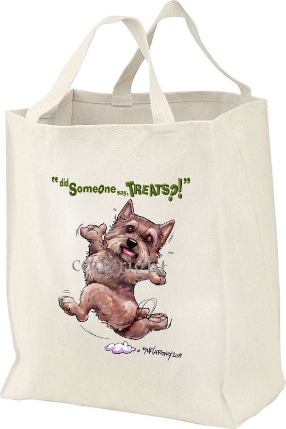 Norwich Terrier - Treats - Tote Bag