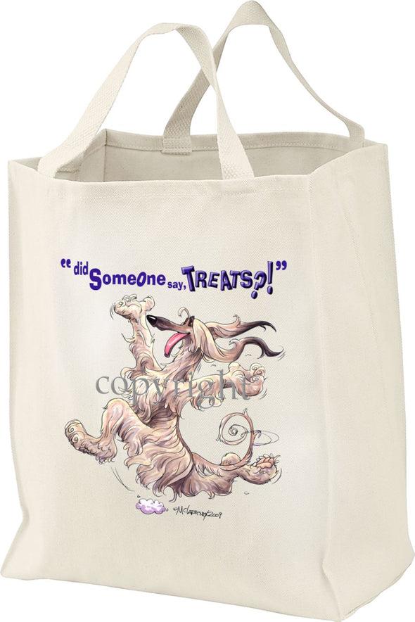 Afghan Hound - Treats - Tote Bag