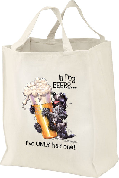 English Cocker Spaniel - Dog Beers - Tote Bag