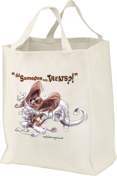 Papillon - Treats - Tote Bag