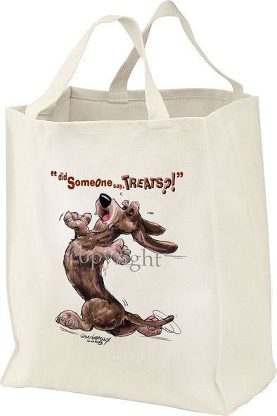 Dachshund  Wirehaired - Treats - Tote Bag