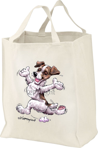 Jack Russell Terrier - Happy Dog - Tote Bag
