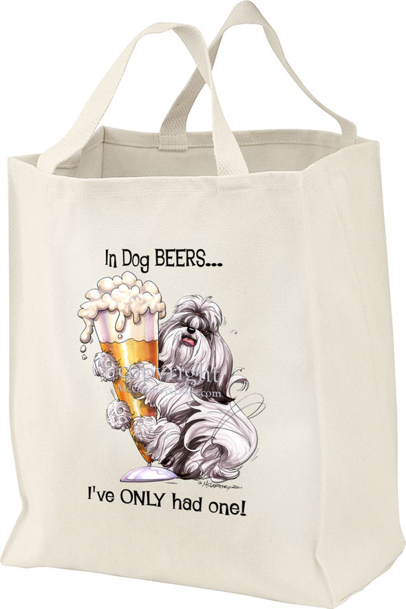 Shih Tzu - Dog Beers - Tote Bag