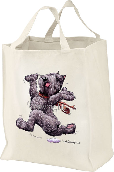 Bouvier Des Flandres - Happy Dog - Tote Bag
