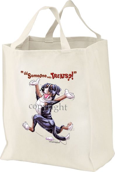 Greater Swiss Mountain Dog - Treats - Tote Bag