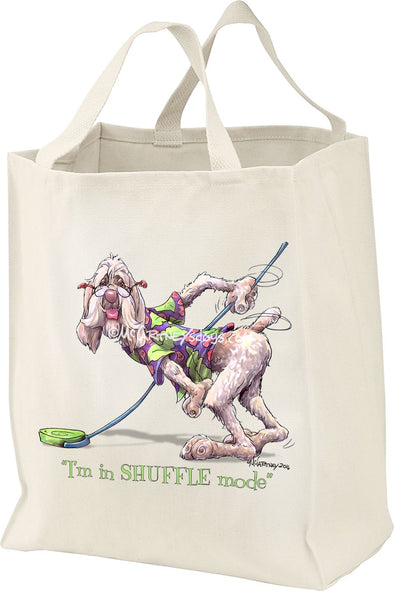 Spinoni - Shuffling - Mike's Faves - Tote Bag