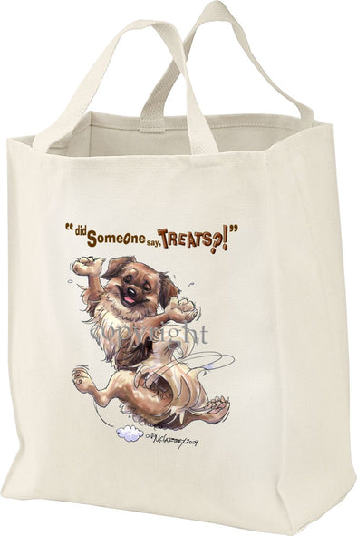 Tibetan Spaniel - Treats - Tote Bag