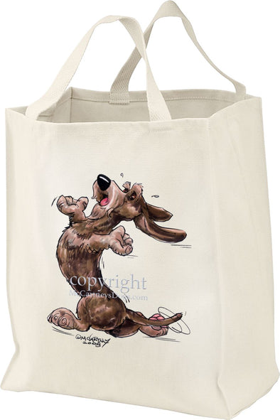 Dachshund  Wirehaired - Happy Dog - Tote Bag