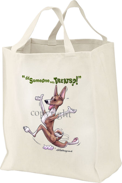 Basenji - Treats - Tote Bag