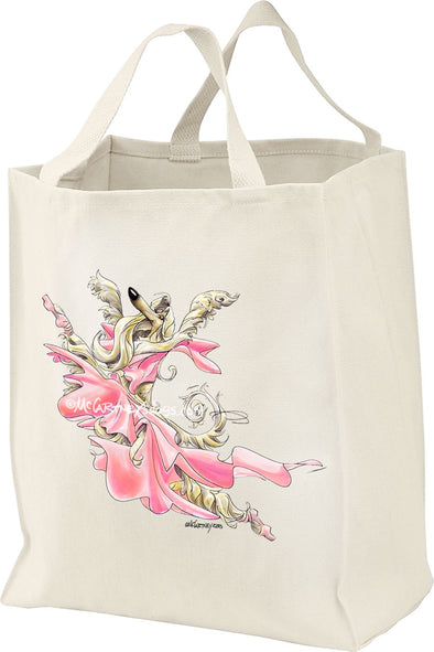 Afghan Hound - Ballet - Mike's Faves - Tote Bag
