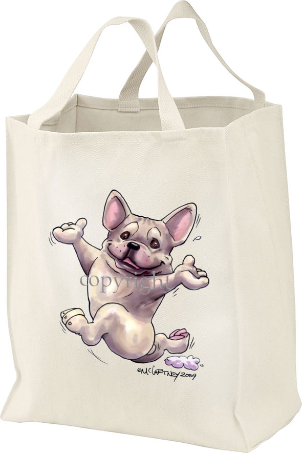 French Bulldog - Happy Dog - Tote Bag