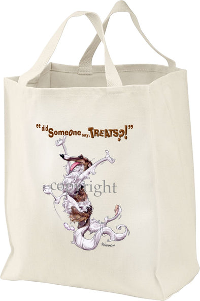 Borzoi - Treats - Tote Bag