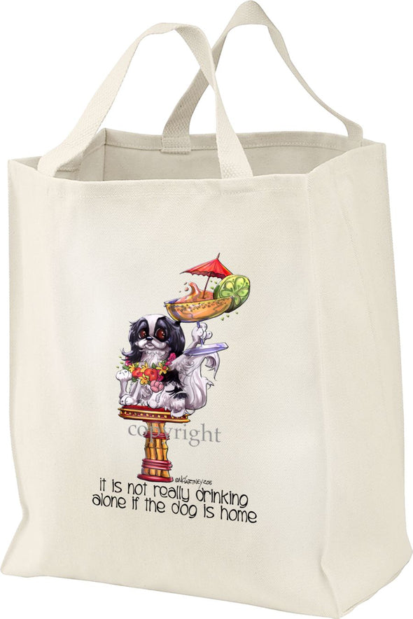 Japanese Chin - It's Not Drinking Alone - Tote Bag