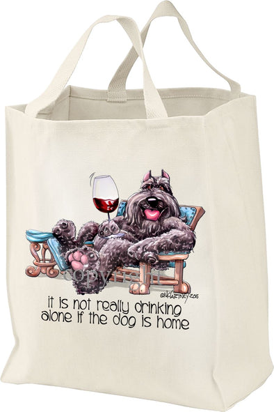 Bouvier Des Flandres - It's Not Drinking Alone - Tote Bag