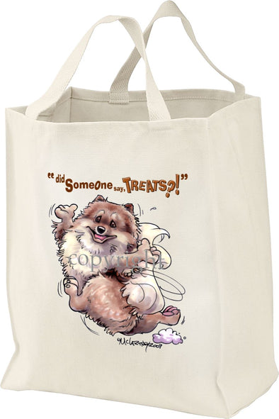 Pomeranian - Treats - Tote Bag