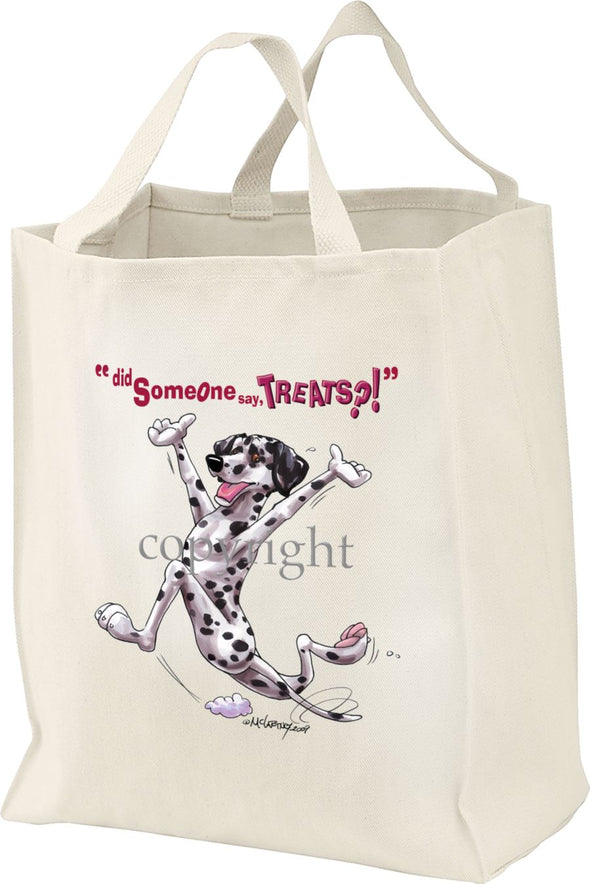 Dalmatian - Treats - Tote Bag