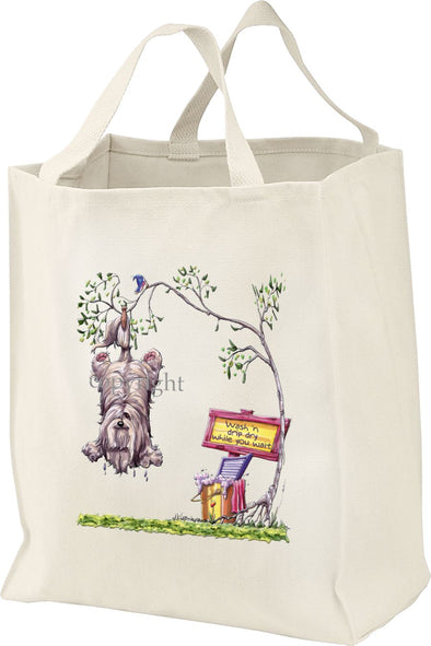 Lhasa Apso - Air Dry - Mike's Faves - Tote Bag