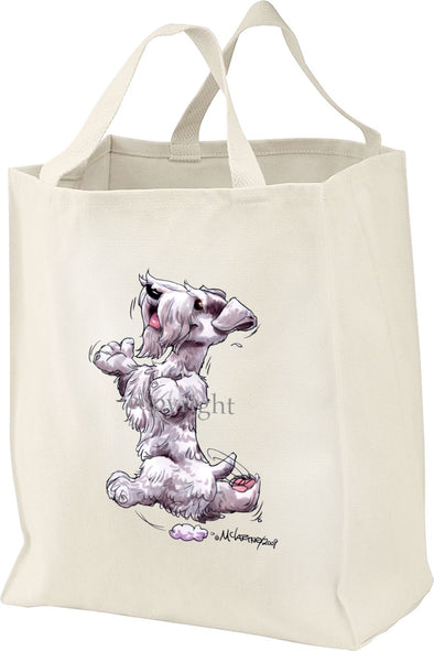 Sealyham Terrier - Happy Dog - Tote Bag