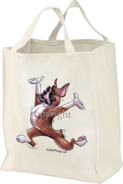 Boxer - Happy Dog - Tote Bag