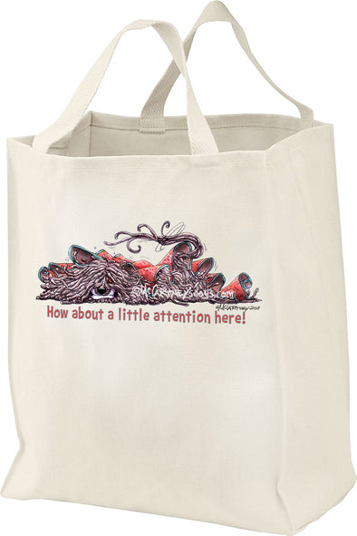 Puli - A Little Attention - Mike's Faves - Tote Bag