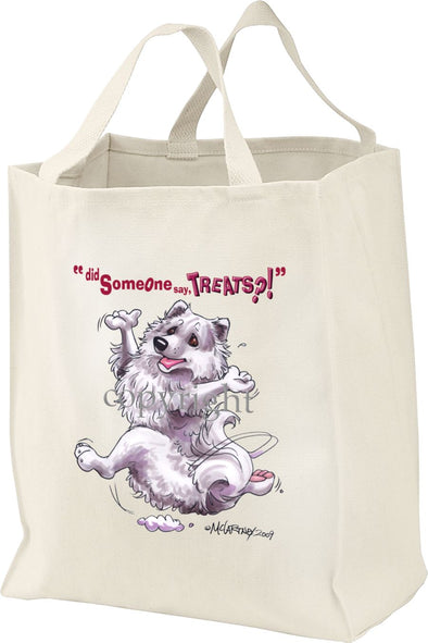American Eskimo Dog - Treats - Tote Bag