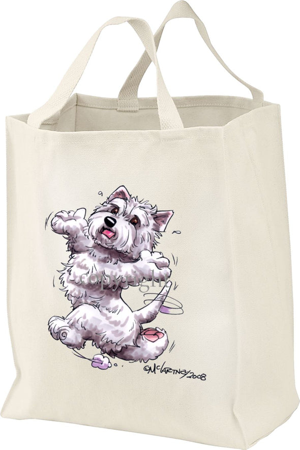 West Highland Terrier - Happy Dog - Tote Bag