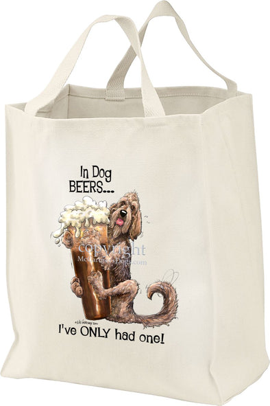 Otterhound - Dog Beers - Tote Bag