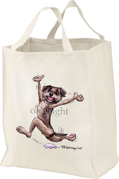 Border Terrier - Happy Dog - Tote Bag