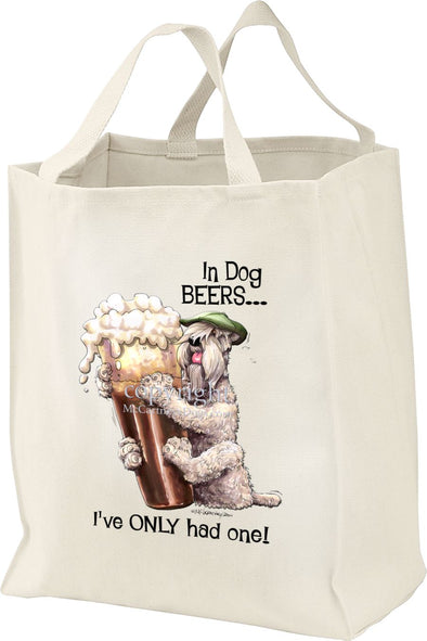 Soft Coated Wheaten - Dog Beers - Tote Bag
