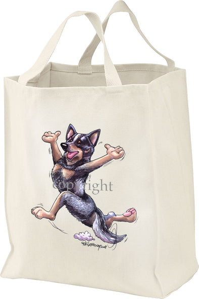 Australian Cattle Dog - Happy Dog - Tote Bag