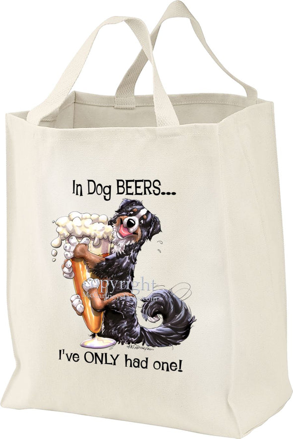 Bernese Mountain Dog - Dog Beers - Tote Bag