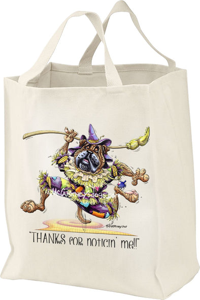 Bullmastiff - Scarecrow - Mike's Faves - Tote Bag