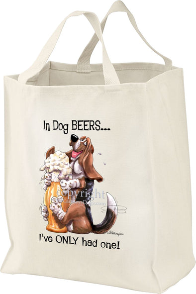 Basset Hound - Dog Beers - Tote Bag