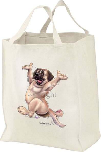 Mastiff - Happy Dog - Tote Bag