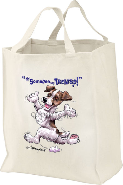 Parson Russell Terrier - Treats - Tote Bag