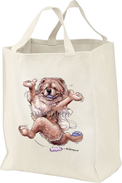 Chow Chow - Happy Dog - Tote Bag