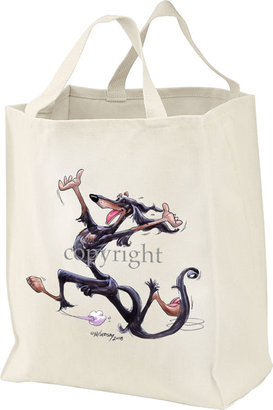 Saluki - Happy Dog - Tote Bag