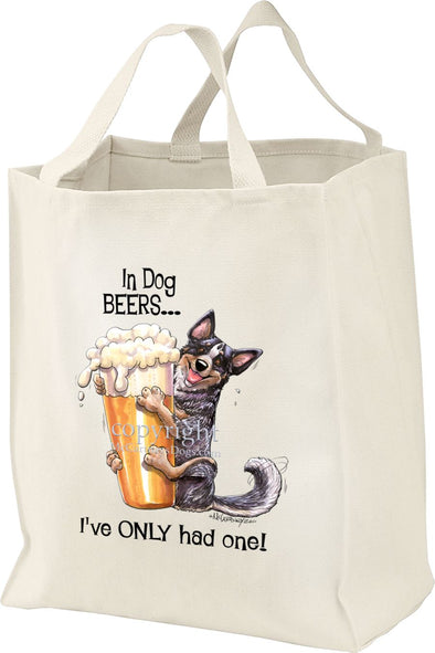 Australian Cattle Dog - Dog Beers - Tote Bag