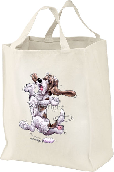Petit Basset Griffon Vendeen - Happy Dog - Tote Bag