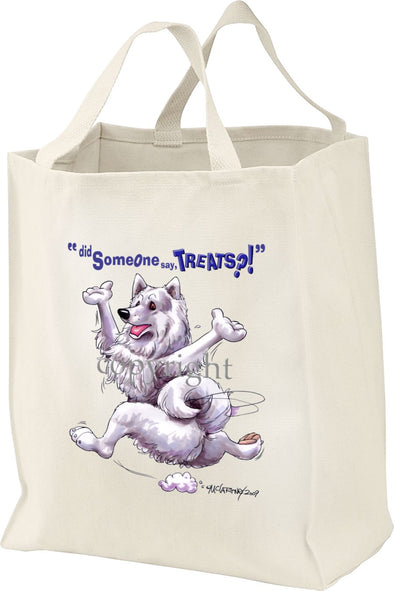 Samoyed - Treats - Tote Bag