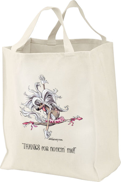 Chinese Crested - Ballet - Mike's Faves - Tote Bag